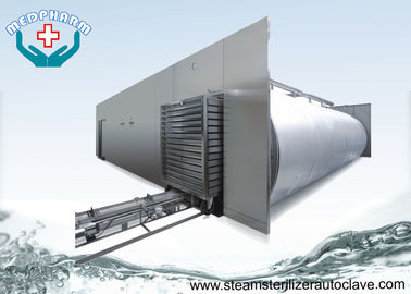Recessed Through Wall Hospital Steam Sterilizer Equipment With Pre - vacuum And Post Vacuum Phase